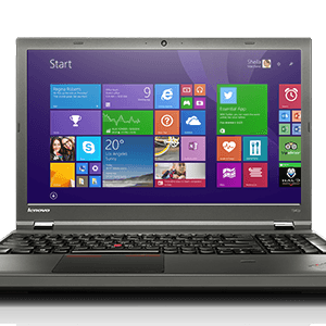 14″ Lenovo ThinkPad T540P – i5 4300M – 8GB – 500GB HDD