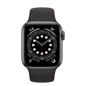 Apple Watch Series 6 – 40mm GPS Space Gray Sports Band